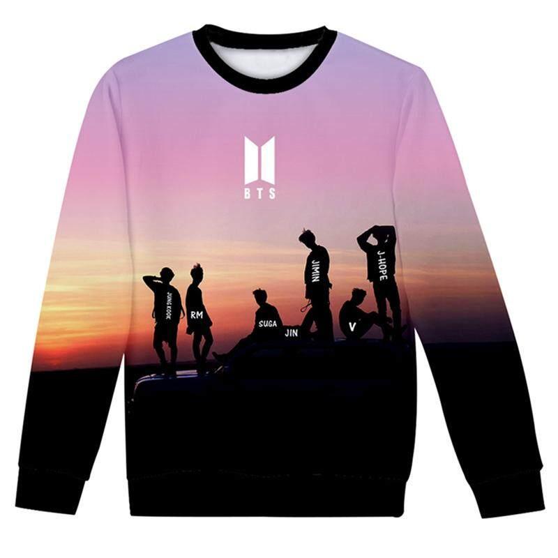 Hequ Bts Fashion Sweatshirts Women Hip Hop Casual Long Sleeve Hoodies Youth Girls Fans Present By Hequ Trading.
