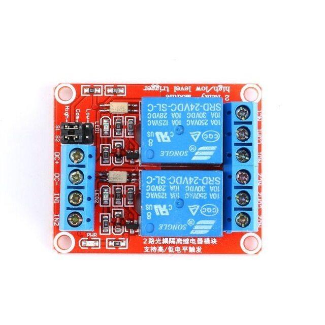 1 Cái 1 2 4 8 Kênh 24 V Mô-đun Rơle Bảng Bảo Vệ Với Bộ Ghép Quang Hỗ Trợ Kích Hoạt Mức Cao Và Thấp Cho Arduino