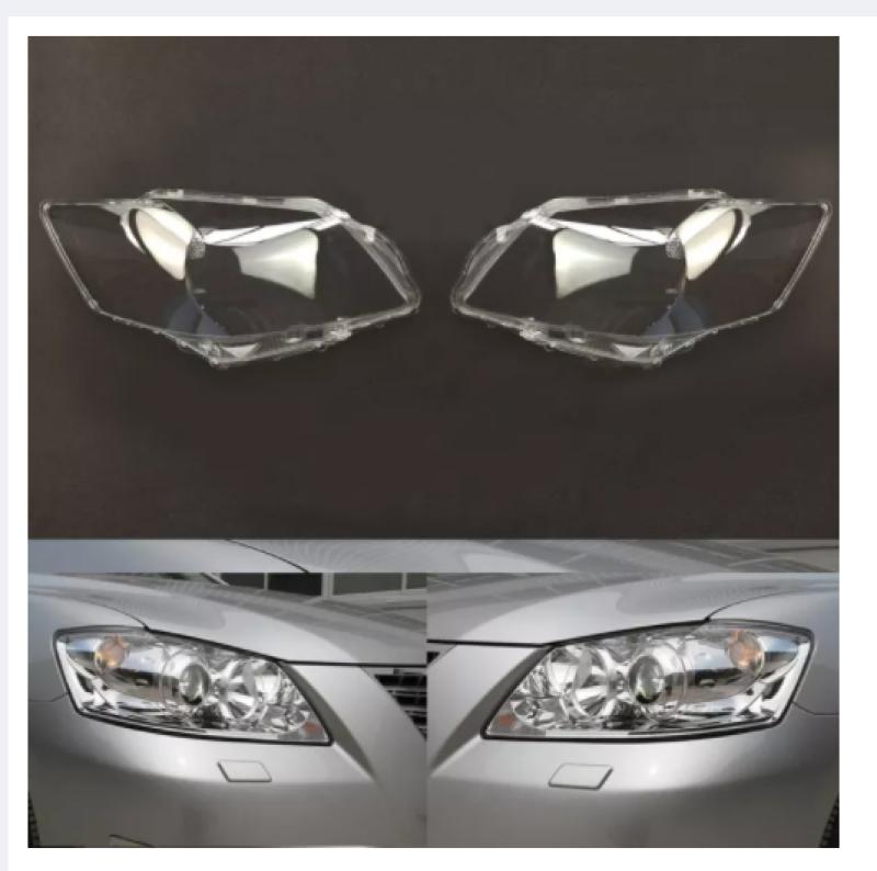 2 Ống Kính Đèn Pha Ô Tô Cho Toyota Camry 2006 2007 2008 Vỏ Thay Thế Ô Tô Tự Động