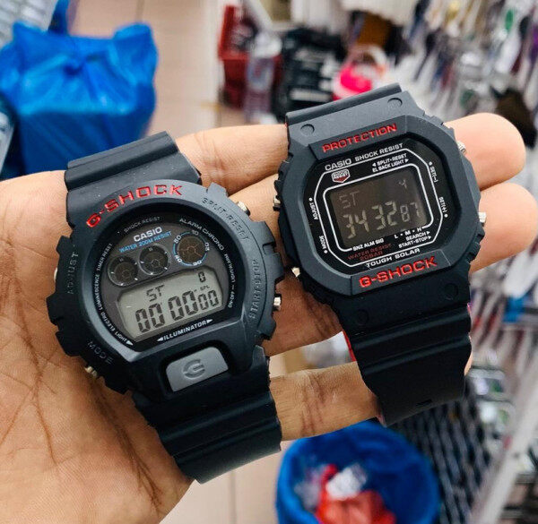 Sports Casio_G_SHOCK_Couple Set Digital Time Display Fashion Casual Watch For Unisex Malaysia