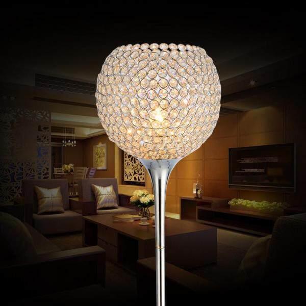 Crystal Ball Floor Lamps .Living Room Bedroom Study Floor Stand Lamp Lighting Decoration.110V-240V-E27