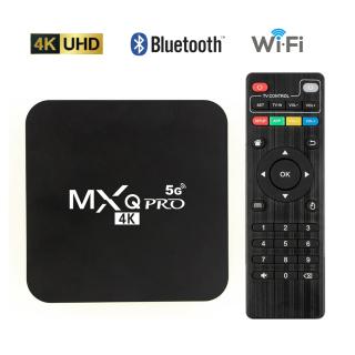 MXQ PRO 5G Smart TV Box Android 9.0 4K 2.4G&5G WiFi Amlogic S905W HD 3D Android TV Box Media Player 1080P Global Version thumbnail