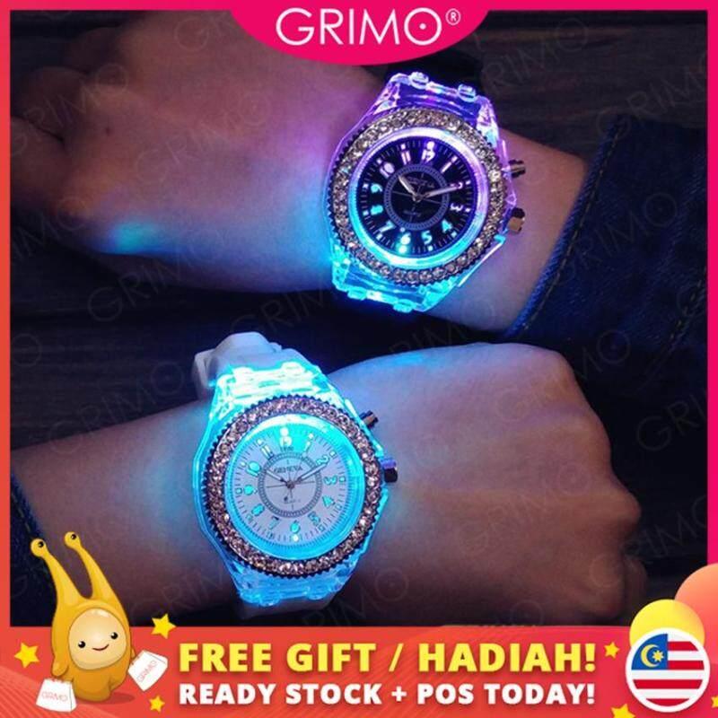 [BDAY SALE] Grimo Malaysia - Alcott Night Womens Watch with LED Lights Perempuan Girl Jam Tangan Wanita Fashion Gift Women Ladies Girls New November 2019 ac11403 Malaysia