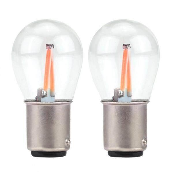 Cặp Đèn LED COB Nhấp Nháy Thủy Tinh 1157 Đèn Báo Rẽ Lùi Cho Xe Hơi Bóng Đèn Phanh Đuôi Xe