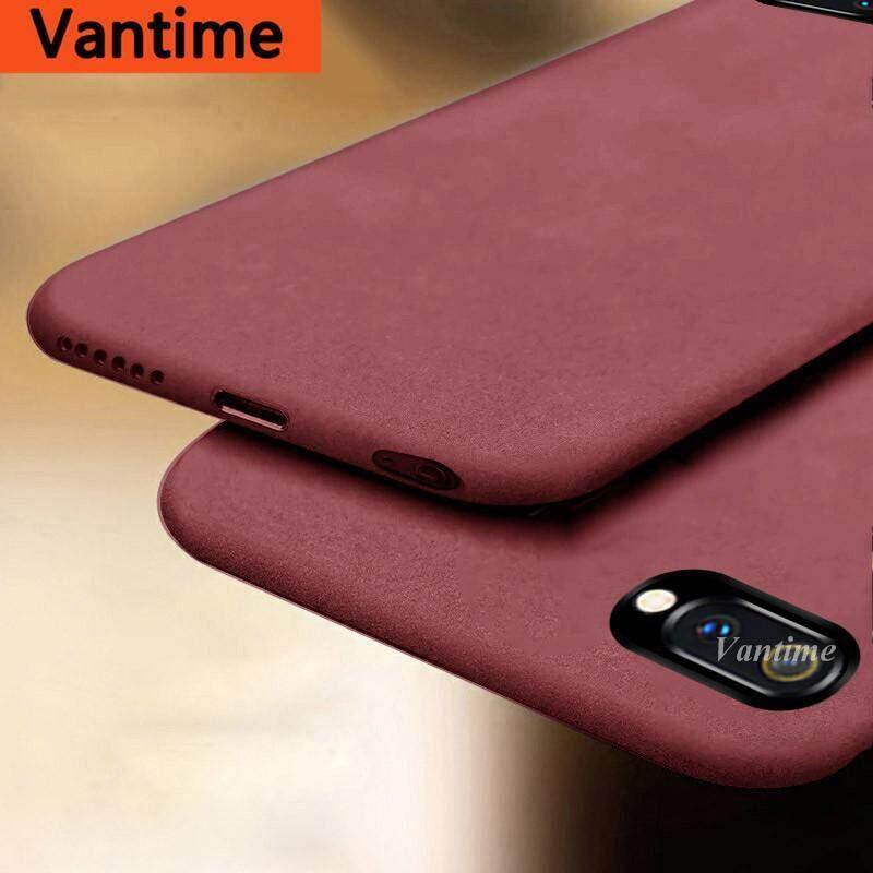 Giá Vantime Dành Cho Realme C2 Đá Sa Thạch Mềm Vỏ Cực Mỏng Lưng Bảo Vệ Điện Thoại Ốp Lưng Slim Cover