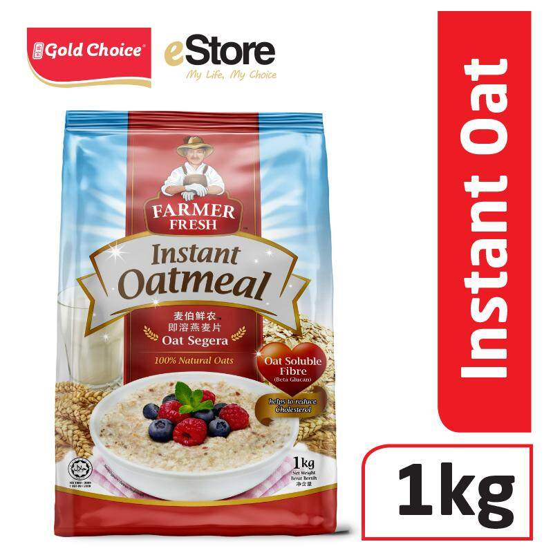 Farmer Fresh Oatmeal Instant - 1kg X 1 By Gold Choice.