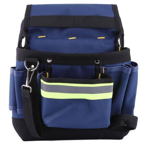 Electrician Waist Bag Tool Holder Electrician Bag Convenient Work Organizer Pouch with Belt