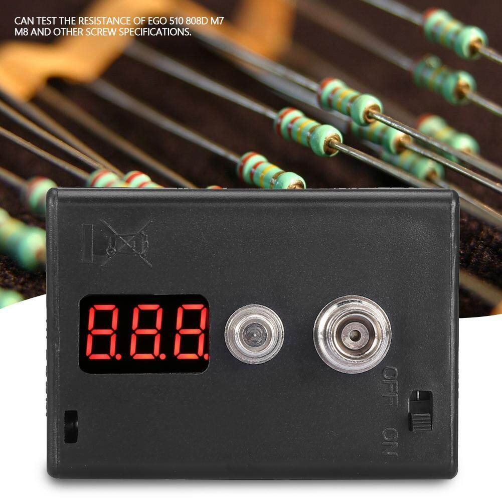 Ohm Reader Voltage Tester Resistance Ohmmeter for M7 M8 Screw with Charging Function