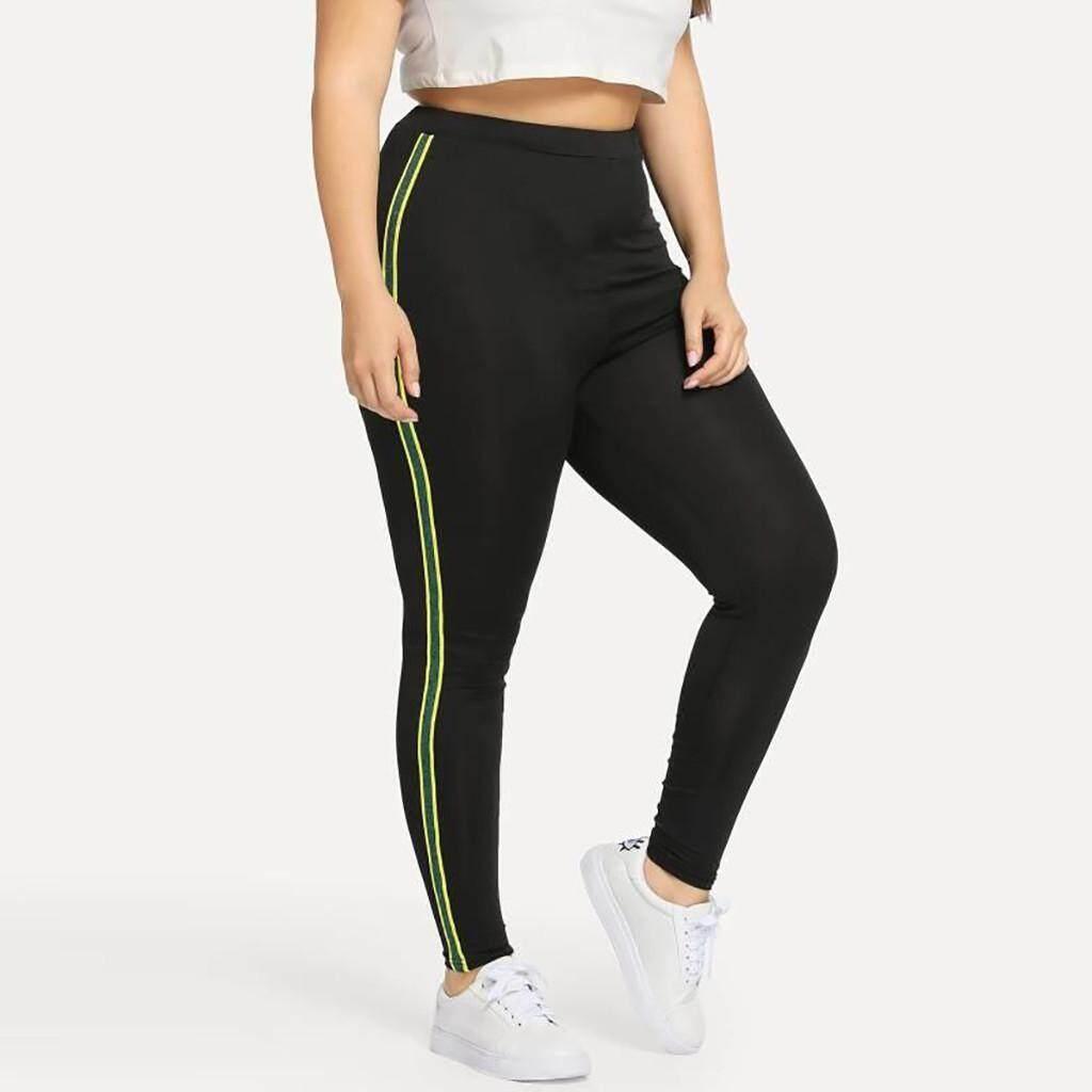 e06d6788e1413 dreambeautry store-Women Plus Size Sequined Elastic Fitness Sports Leggings  Yoga Athletic Pants