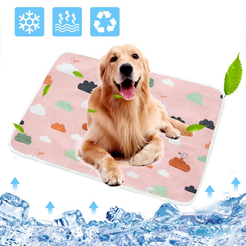 Dog Tã Mat Môi Trường Hấp Thụ Bảo Vệ Chống Nước Tái Sử Dụng Huấn Luyện Pad Dog Car Seat Cover Có Thể Giặt Được