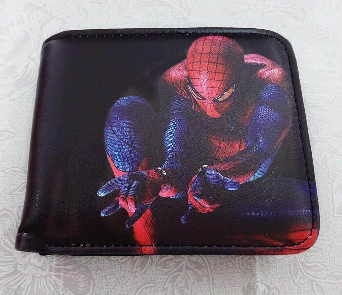 37c789fe34a2 Men s Short Wallet   Spider-Man Bat man Iron man Avengers