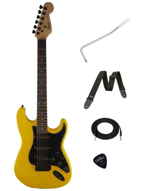 Custome Squier Electric Guitar (Yellow) Malaysia