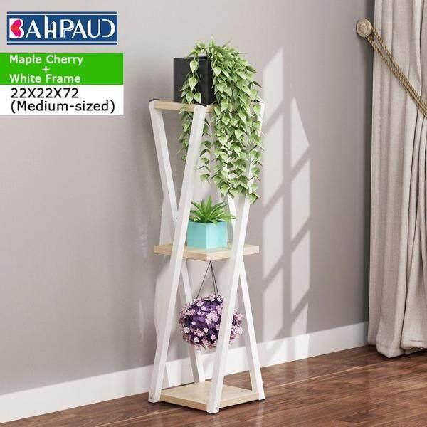 BAHPAUD Floor-standing Rack Multi-layer Simple Space-saving Flower Pot Rack