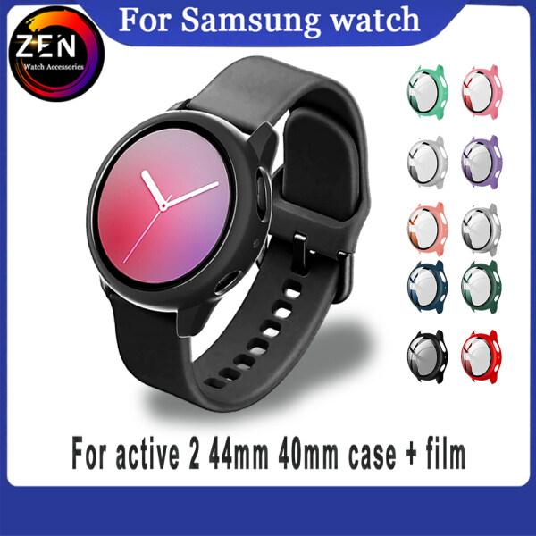 Mới Cho Samsung Galaxy Watch Active 2 Vỏ Nhựa 40Mm 44Mm Khung Cứng Với Màng Kính Cho Galaxy Watch Active 44