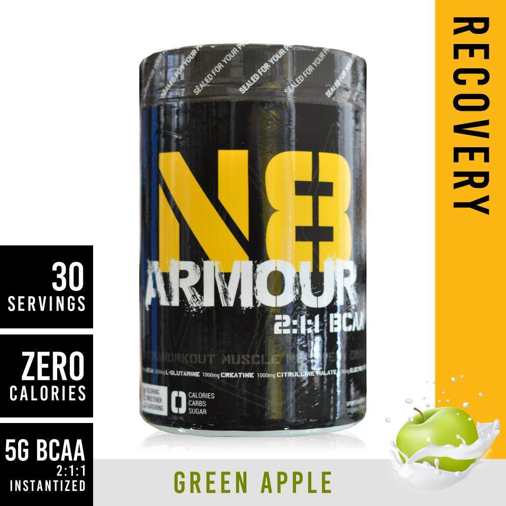 N8 Armour Bcaa 30servings Apple By Ego Sports.