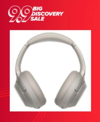 Sony Wireless Noise Cancelling Over Ear Headphones WH-1000XM3