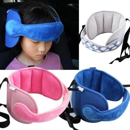 Safety Car Seat Head Support Sleep Pillows Kids Neck Travel Stroller Soft Pillow