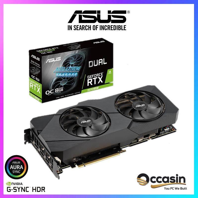 ASUS Dual GeForce® RTX 2070 SUPER™ EVO OC Edition 8GB GDDR6