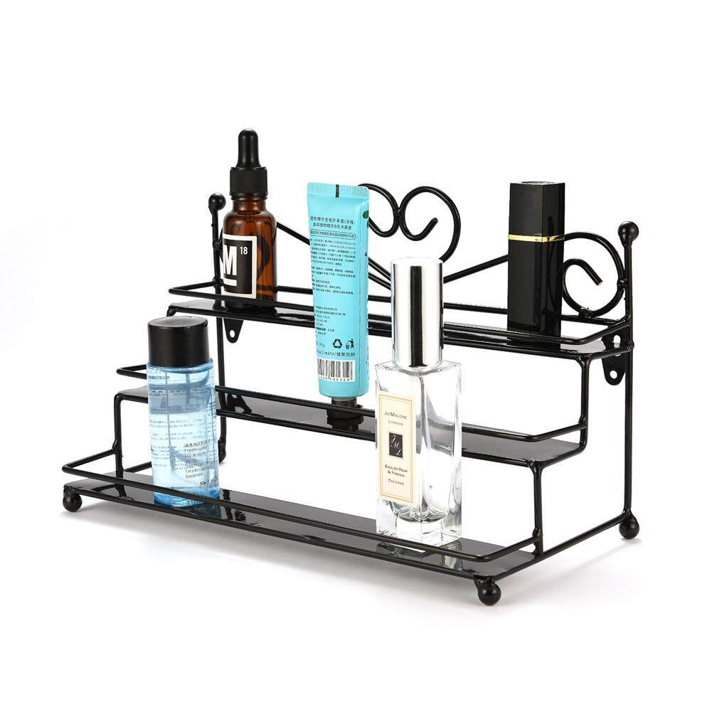 Home and Living Organizer Perfume Holder Cosmetic Stand Three-layer Makeup organizer