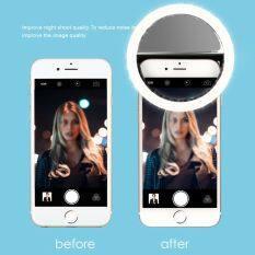 Điện Thoại LED Selfie Ring Light Đèn Pin Camera Nhiếp Ảnh Phổ Quát Cho Điện Thoại ( Khanh LInh ) ( Thanh Thủy Story )