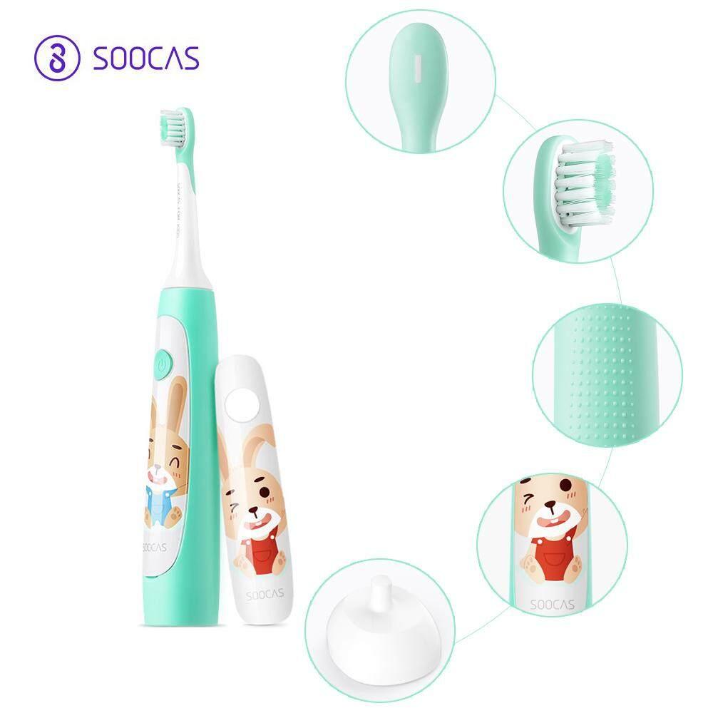 Mi SOOCAS C1 Trẻ Bàn Chải Đánh Răng Điện Sóng Âm Siêu Âm Sạc Bàn Chải Răng Bàn Chải Đánh Răng Tự Động USB