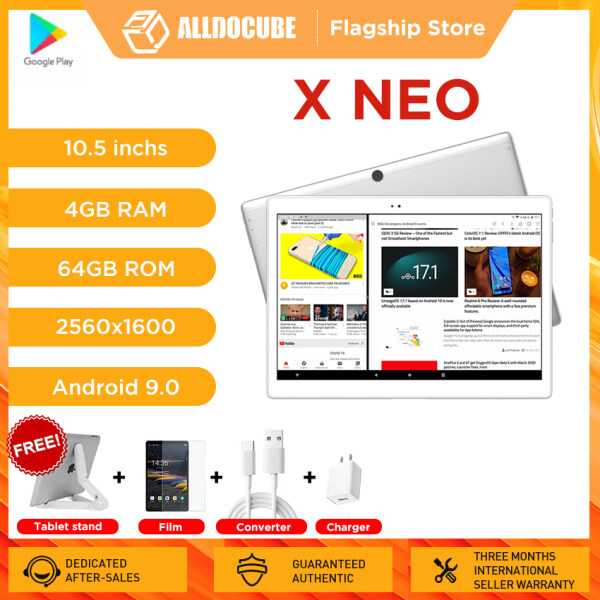 Alldocube X Neo Android Tablet 10.5 Inch Super AMOLED 2.5k 2560×1600 IPS Screen Dual SIM LTE 4G Snapdragon 660 4GB RAM 64GB ROM Tablet PC Bluetooth 5.0【Flagship Store】 Malaysia