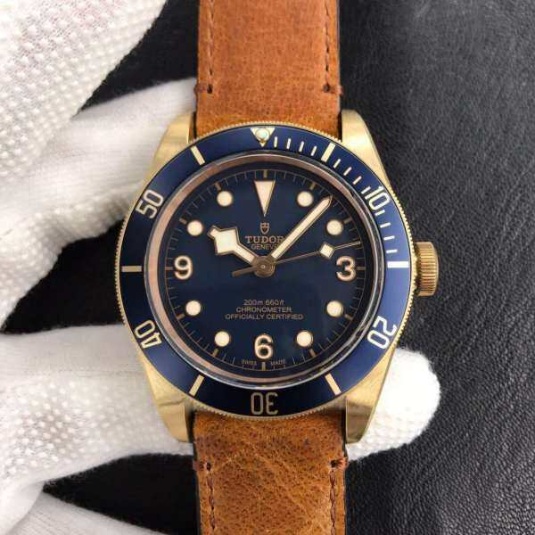 Tudor Heritage Black Bay Bronze M79250bm Bronze Blue Dial M9015 Malaysia