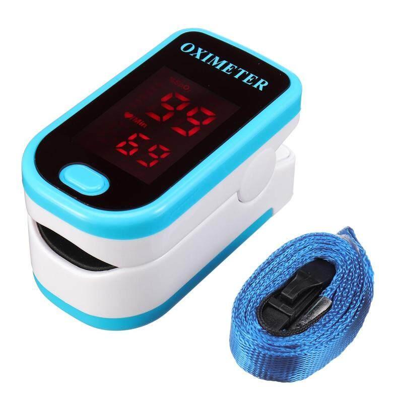 Ngón tay Pulse Oximeter Độ Bão Hòa Ôxy Máu Màn Hình SPO2 PR CE FDA LED # Xanh Dương bán chạy
