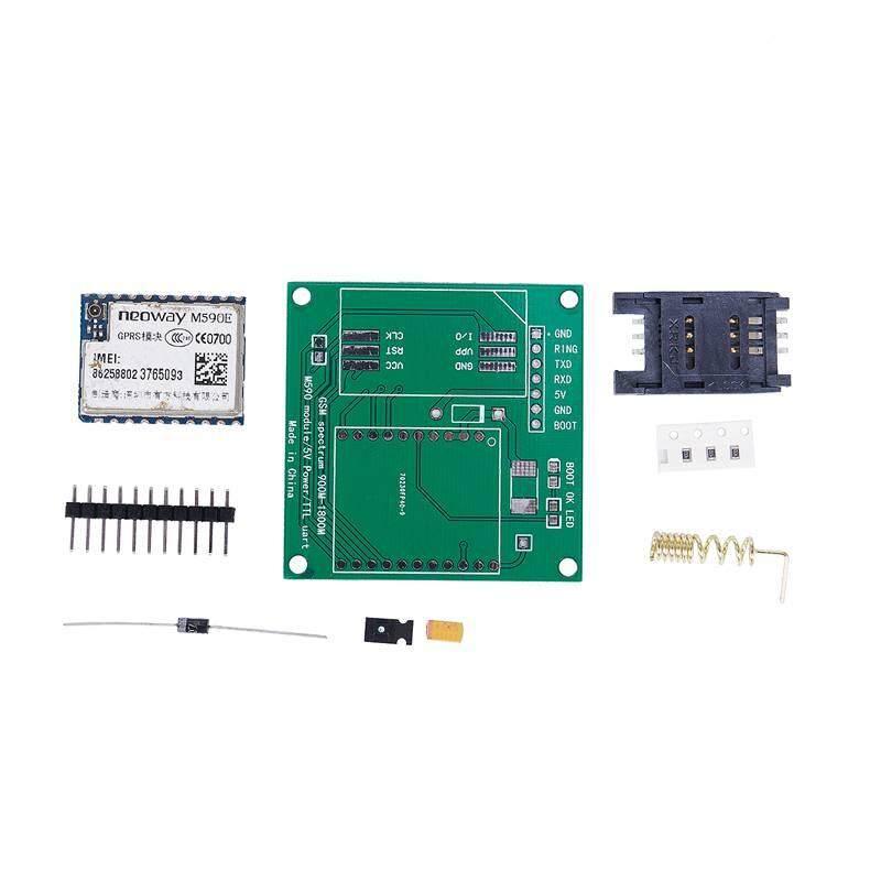 Giá M590E GSM GPRS Module Board 900M-1800M Sms CPU MCU Test Message For Arduino DIY