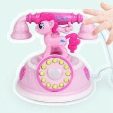Đồ chơi điện thoại bằng nhựa kích thước 13*13*13cm tích hợp 3 pin AA (không bao gồm) thích hợp cho bé từ 3 tuổi trở lên – INTL