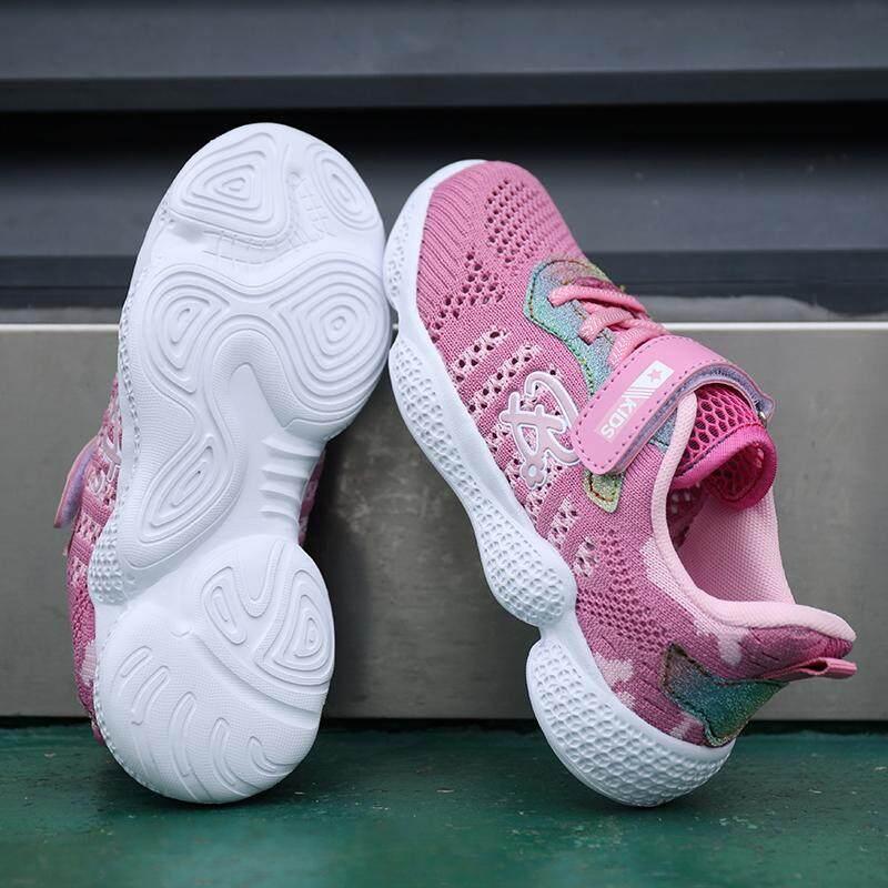 Giá bán Mới Giày Thể Thao Trẻ Em Bé Gái Ngoài Trời Chạy Bộ cho Nam chống trơn trượt Hàn Quốc Đĩa 622