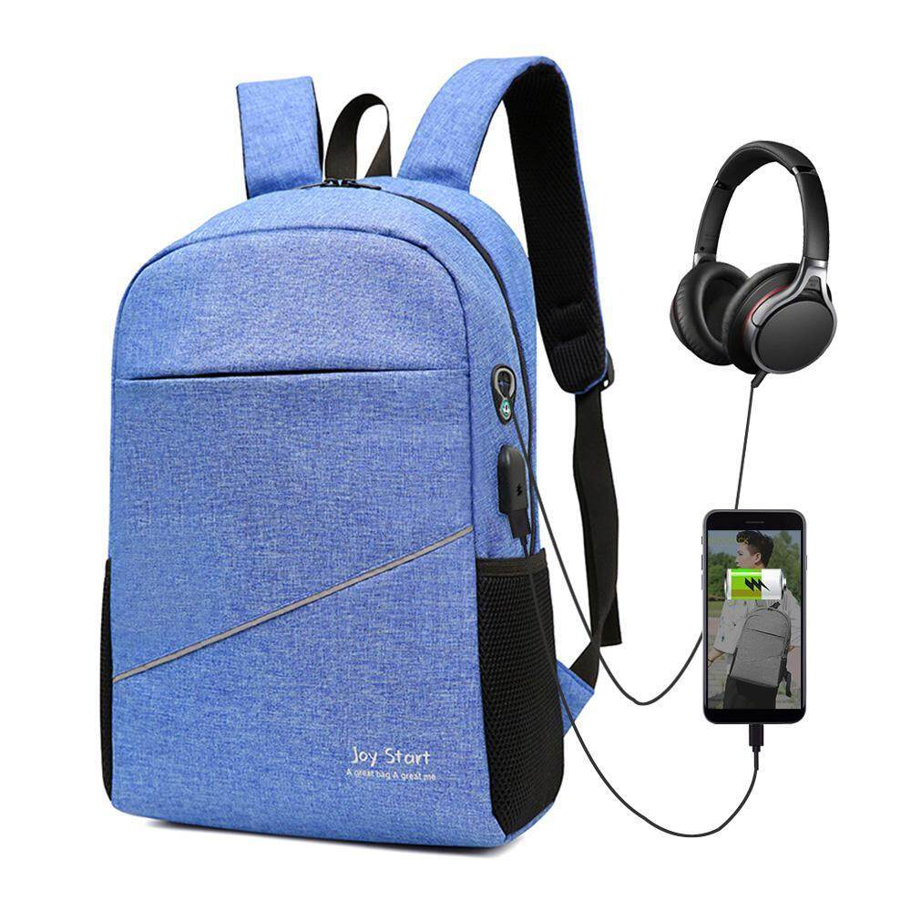 Treeone Laptop Backpack Lightweight School Bookbag Business Computer Backpack With Usb Charging Plug By Treeone.