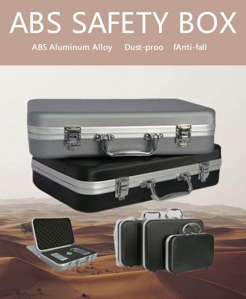 Aluminum Alloy Tool Box Watch Camera Shockproof Waterproof Storage Suitcase  Vehicle Repair Boxes Portable Equipment Container