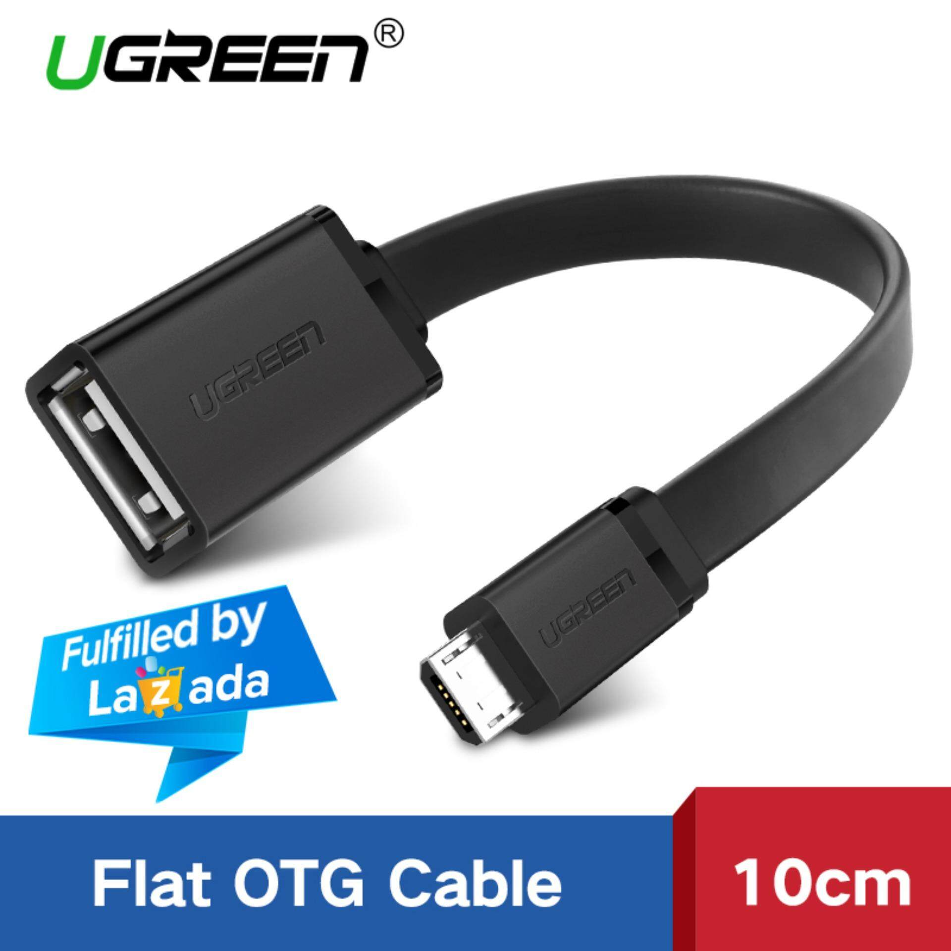 86f5cdcc8d3f0a UGREEN Micro USB 2.0 OTG Cable On The Go Adapter for Realme 3 OPPO Vivo  Samsung