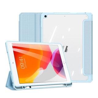 Ốp Máy Tính Bảng Cho iPad 10.2 2019 7th Gen A2197 A2200 A2198 Ốp Lưng Cho iPad 10.2 2020 Thế Hệ Thứ 8 A2428 A2429 A2270 A2430, Đánh Thức Giấc Ngủ Thông Minh Với Hộp Đựng Bút Chì Giá Đỡ Gấp Ba Mặt Sau Trong Suốt thumbnail