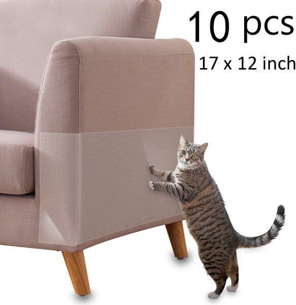 10 Cái/bộ Băng Cào Cho Mèo, Miếng Dán Chống Trầy Xước Ngăn Chặn Thảm Trong Suốt Bảo Vệ Ghế Sofa Đồ Nội Thất Cho Sofa Sản Phẩm Thú Cưng