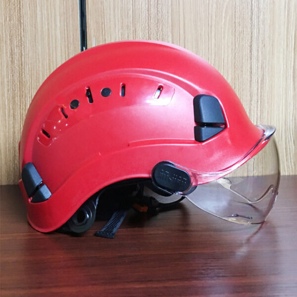 Safety Helmet With Construction Hard Hat High Quality ABS Protective Helmets Work Cap For Working Climbing Riding