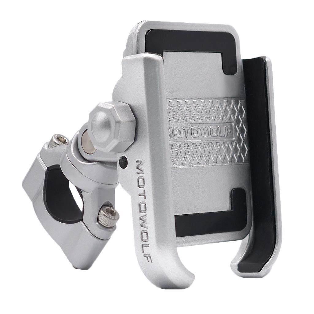 Bloomyshop Black Aluminum Mobile Phone Holder Bracket for Electro motorcycle Motorcycle