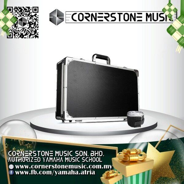 Vangoa Ghost Fire Aluminum Medium Electric Effect Pedal Case Board Box Hard Case Carrying Bag ( 12 x 34 x 56 cm ) High Quality Cornerstone Music Malaysia