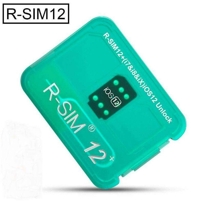 WT RSIM 12+ Plus 2019 R-SIM Nano Unlock Card fits iPhone X/8/7/6/6s 4G iOS  12 3