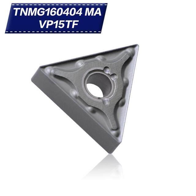 10 chiếc TNMG160404 MA VP15TF Bên Ngoài Dụng Cụ Quay Rau Carbide Miếng Cắt CNC Dụng Cụ Tiện dụng cụ dao Phay