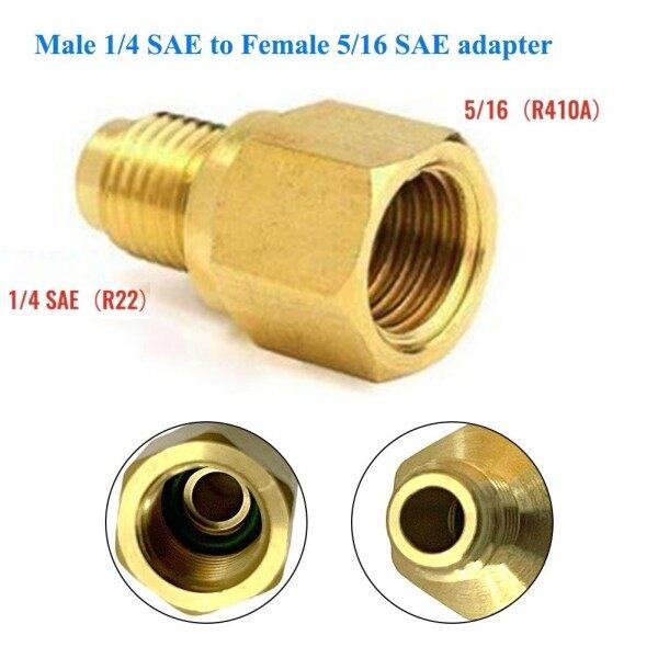 Bộ Chuyển Đổi R410a Khớp Nối Nhanh, R410A Lạnh Adapter Bộ Chuyển Đổi SAE 1/4-5/16