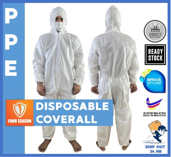 Disposable PPE Non Woven Coverall