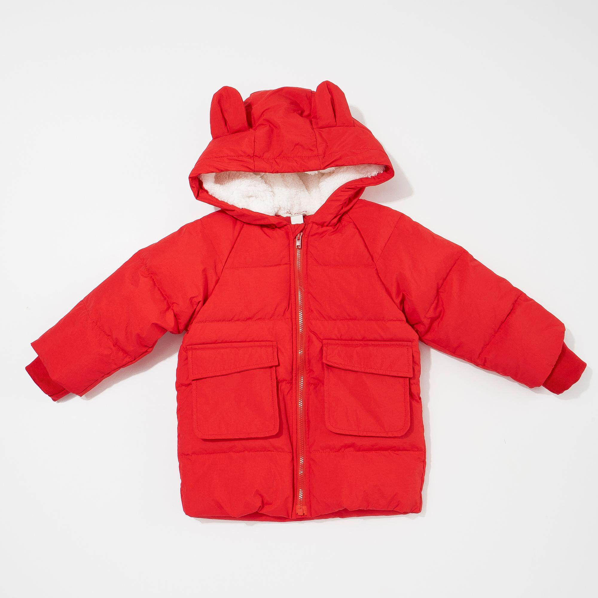Poney Caila Puffer Jacket (red) By Poney.