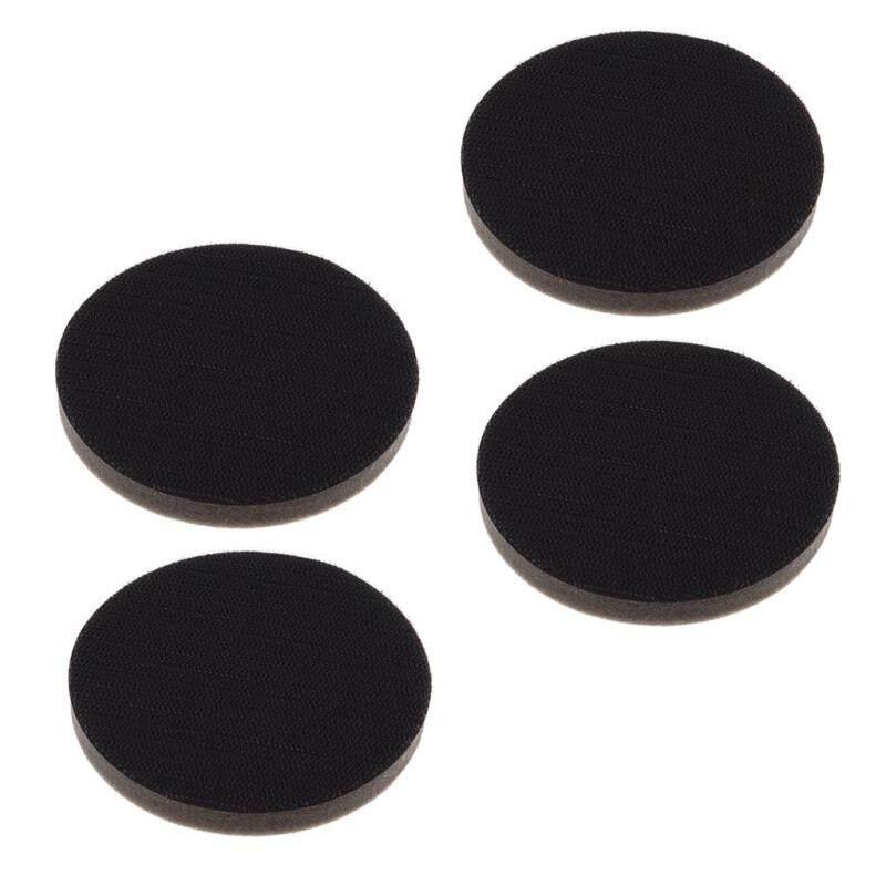 MagiDeal 4 cái/bộ (150mm/125mm) Đường Kính Bọt Biển Giao Diện Miếng Lót Nhám Lưng Miếng Lót