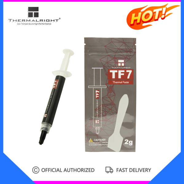 Thermalright TF7 2g 12.8 W/m.k high-end thermal grease CPU GPU heat sink long life non-conductive and high heat transfer Malaysia