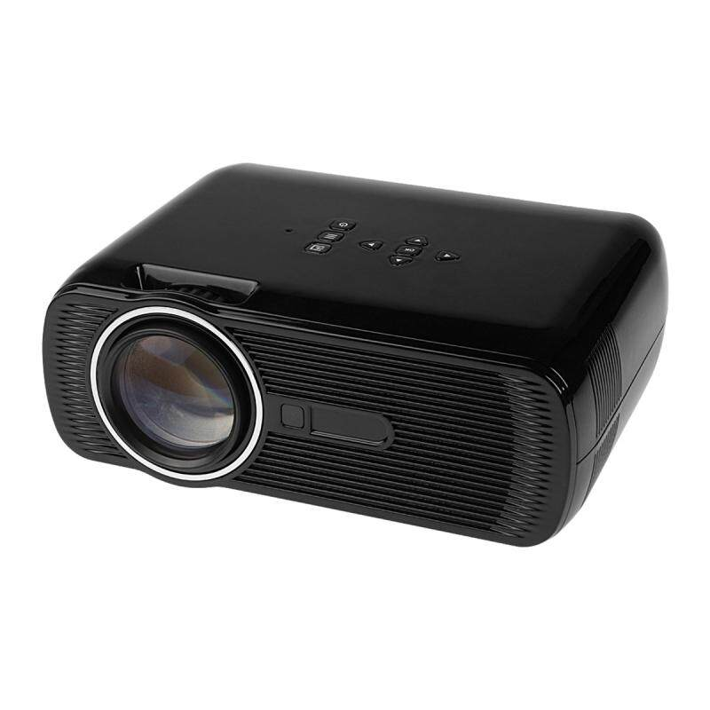 LEDMOMO 1000 Lumens LED Projector Multimedia Home Theater Video Projector Supporting 1080P with US Plug