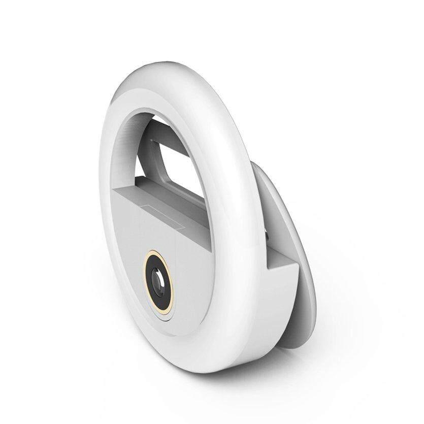 ĐẦU USB Di Động hẹn giờ Đèn Flash Máy Ảnh Kẹp Điện Thoại hẹn giờ Đèn LED Ban Đêm