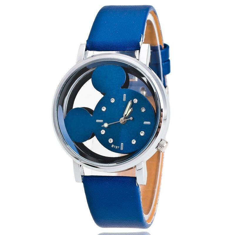 Childrens fashion quartz watch male and female watch student Han version simple trend watch Malaysia