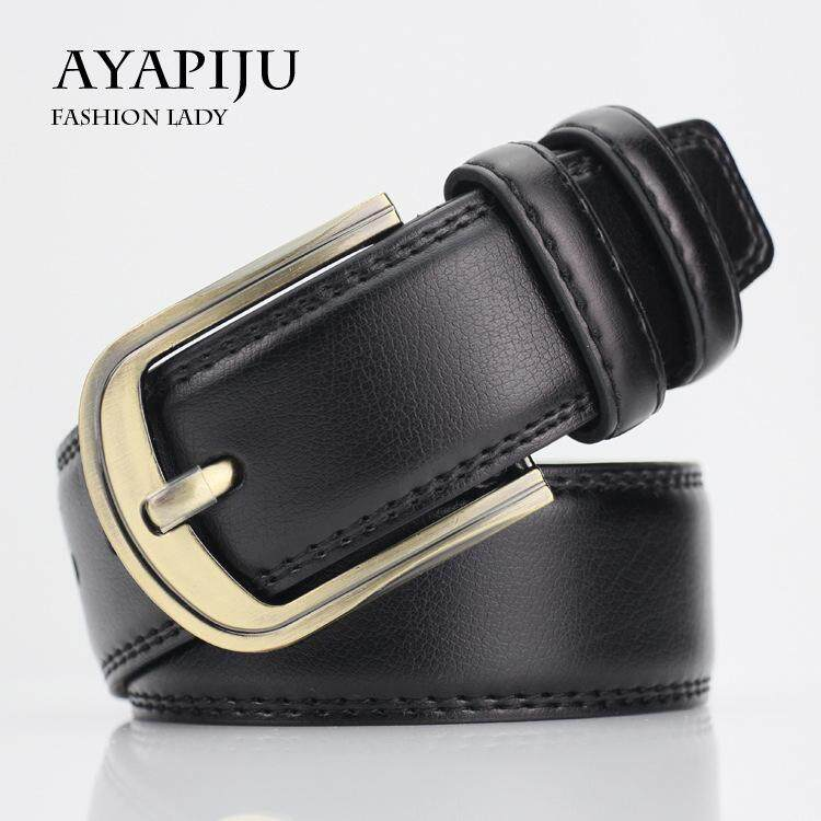 """Mens Belt Genuine Leather Dress Belt Classic Casual 1 1/4"""" Wide Belt With Single Prong Buckle"""